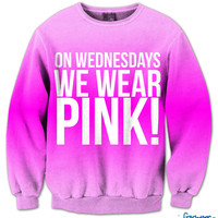 On Wednesdays We Wear Pink Fresh Top Crew Neck