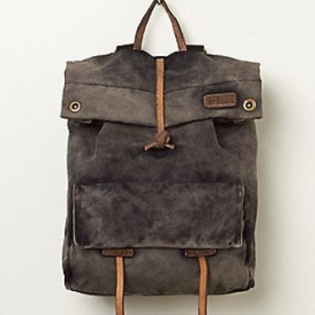 Bed Stu Womens Santa Cruz Backpack - Washed Black One