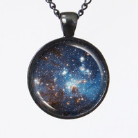 Star Necklace - The Star Forming Reion LH95- Galaxy Series