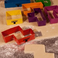 Tetris Cookie Cutters at Firebox.com