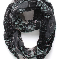 With Love From CA Tribal Print Infinity Scarf at PacSun.com