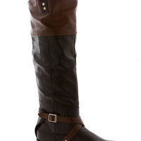 Ask Me Equestrian Boot in Black | Mod Retro Vintage Boots | ModCloth.com
