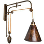 Sarlo - French Counter Balance wall light