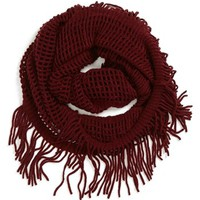 David & Young Open Weave Infinity Scarf (Juniors) (Online Only) | Nordstrom