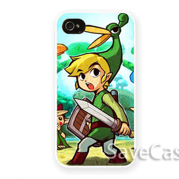 Legend of Zelda - iPhone Case - iPhone 4 iPhone 4s - iphone 5 - Samsung S3 - Samsung S4