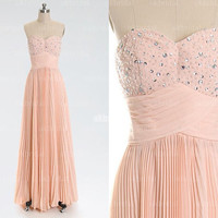 blush prom dresses, blush pink prom dress, custom bridesmaid dress, prom dress bridesmaid, cheap bridesmaid dress, RE320
