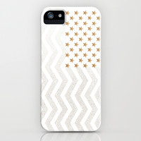*** GATSBY Stars & Stripes *** Glitter  iPhone & iPod Case by Monika Strigel for iphone 5c + 5s + 5 + 4s + 4 + 3gs + 3g + ipod  + Galaxy !!