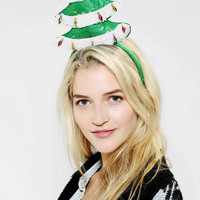 Holiday Tree Light-Up Headband - Urban Outfitters
