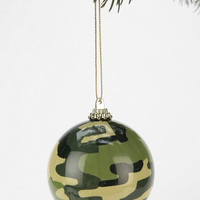 Camo Ball Ornament - Urban Outfitters