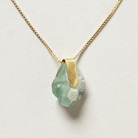 Glacier Green Pendant Necklace