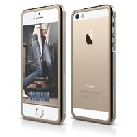 elago S5 Bumper Aluminum Case for iPhone 5/5S (Aluminum champagne Gold)