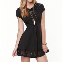 Rehab Sophie Fit N Flare Dress at PacSun.com
