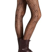 ARROW TRIBAL PATTERNED TIGHT