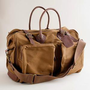 Men's accessories - bags - Rugged twill weekender - J.Crew