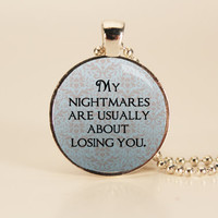 Catching Fire Hunger Games Charm Necklace