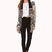 Explorer Draped Front Cardigan
