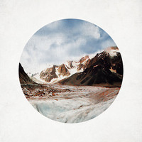 Rocky Mountain Landscape Photography Rustic Snow Travel White Brown Blue Beige Cream