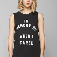 Feather Hearts In Memory Muscle Tee - Urban Outfitters