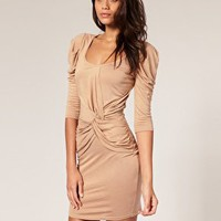 ASOS | ASOS Twist Front Jersey Dress at ASOS