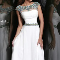 Beaded Gown by Sherri Hill