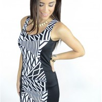 The New Zig Zag Bodycon Dress