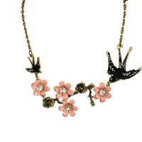 Sparrow & Rose Necklace | Style Icon`s Closet
