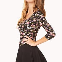 Darling Floral Top