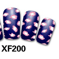 Cute Cheap 3D Nail Sticker Nail thousands of models available XF188
