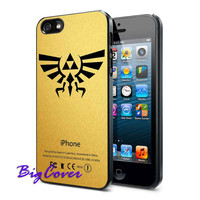 Zelda Triforce Golden - iPhone Case - iPhone 4 iPhone 4s - iphone 5 - Samsung S3 - Samsung S4