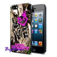 Love Browning Deer Camo - iPhone Case - iPhone 4 iPhone 4s - iphone 5 - Samsung S3 - Samsung S4