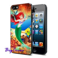 Disney Little Mermaid - iPhone Case - iPhone 4 iPhone 4s - iphone 5 - Samsung S3 - Samsung S4