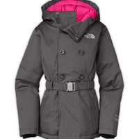 The North Face Girls' Jackets & Vests GIRLS' HILAREE DOWN PEACOAT