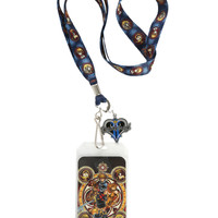 Disney Kingdom Hearts Characters Lanyard