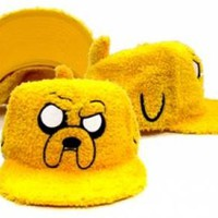 Adventure Time Baseball Hat - Fur Jake
