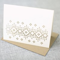 Plane Paper: Sweater Pattern Cards - Box of 8