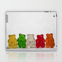 The Lineup Laptop & iPad Skin by Charlene McCoy