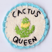 Cactus Queen Patch