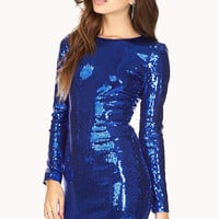 Glam Sequined Bodycon Dress