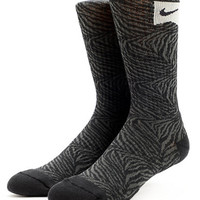 Nike Skateboarding Black Tiger Stripe Crew Socks