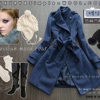 Blue Coat from Pop and Shop