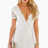 Vdara Lace Bodycon Dress - TOBI