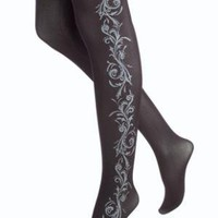 HUE Side Scroll Printed tights