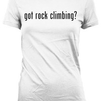 got rock climbing American Apparel Juniors Cut Women's T-Shirt
