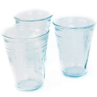 Goods Crushed Glass, Sets of 6 - Style # DB11.04, Goods Glassware