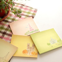 Paris Theme Sticky Note