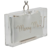 CHARLOTTE OLYMPIA 'Marry Me Pandora' clutch