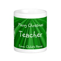 Merry Christmas Teacher Mugs