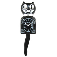 California Clock Company: Kit-Cat Classic Black 14""