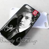 Harry Styles One Direction for iPhone 4, iPhone 4s, iPhone 5, iPhone 5s, iPhone 5c Samsung Galaxy S3, Samsung Galaxy S4 Case