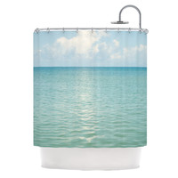 "Catherine McDonald ""Cloud Reflection"" Shower Curtain 